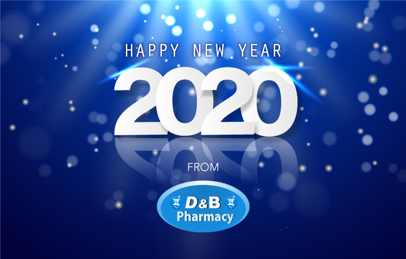 Happy New Year from D&B Pharmacy!